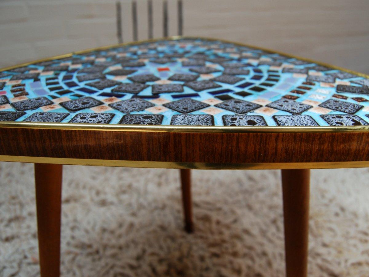 Mosaik beistelltisch von opal kleinm bel bei pamono kaufen for Mosaik beistelltisch