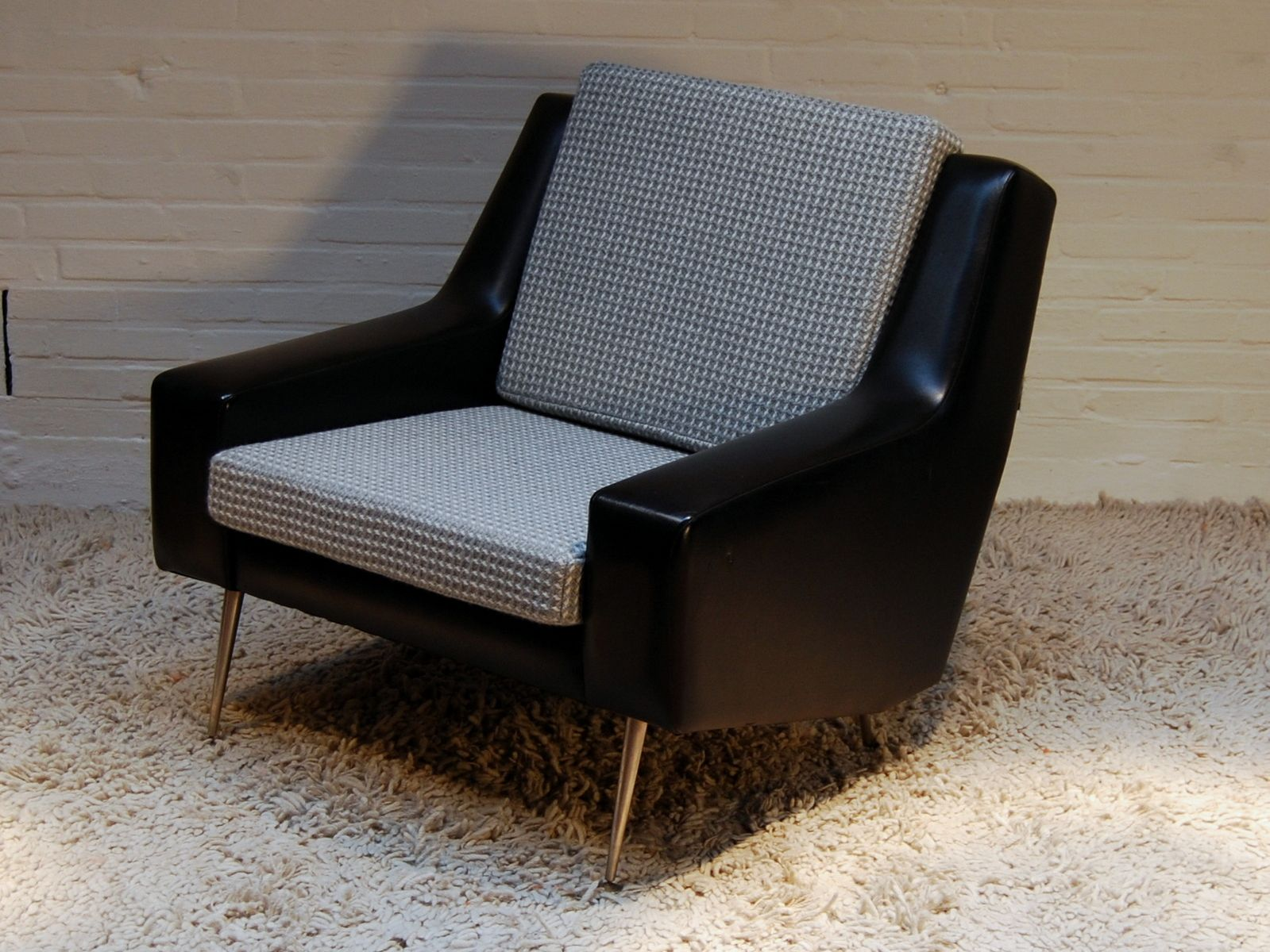 Vintage Vinyl Lounge Chair 1970s For Sale At Pamono