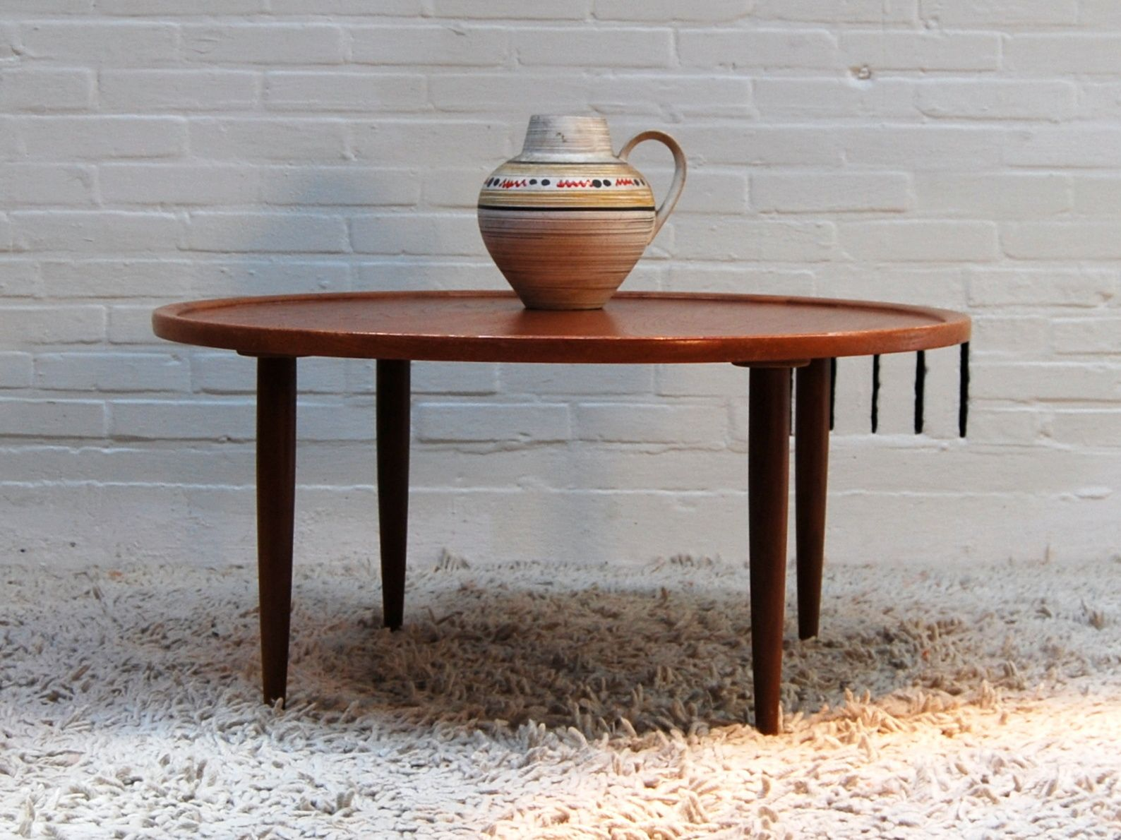 Mid Century Danish Teak Coffee Table 1960s For Sale At Pamono