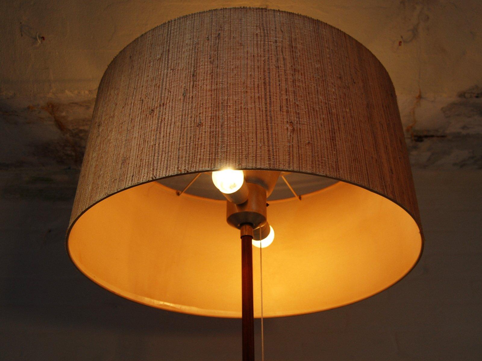 Vintage german teak floor lamp for sale at pamono for German floor lamps