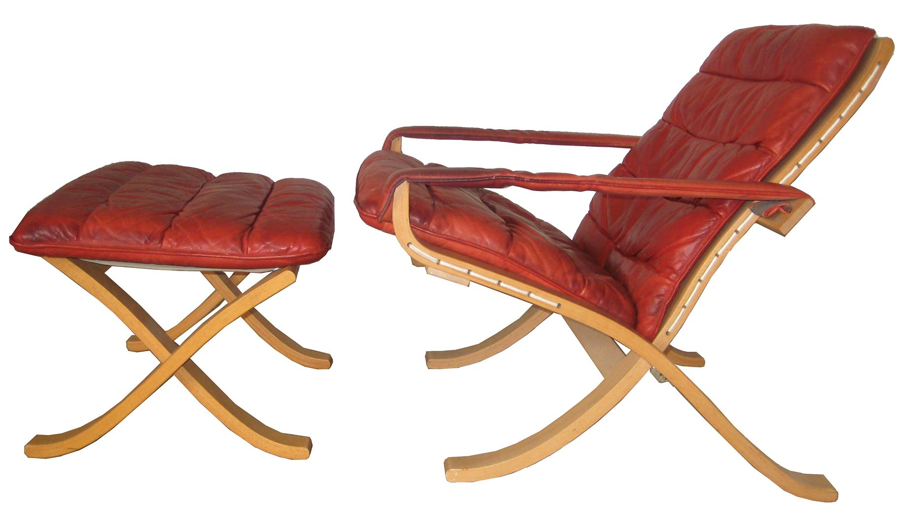 Flex Folding Chair with Ottoman by Ingmar Relling Westnofa for sale at Pamono