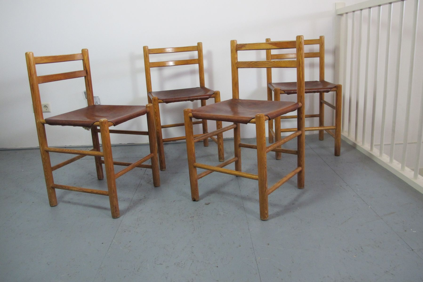 Vintage dutch design dining chairs by ate van apeldoorn for Dutch design chair uk