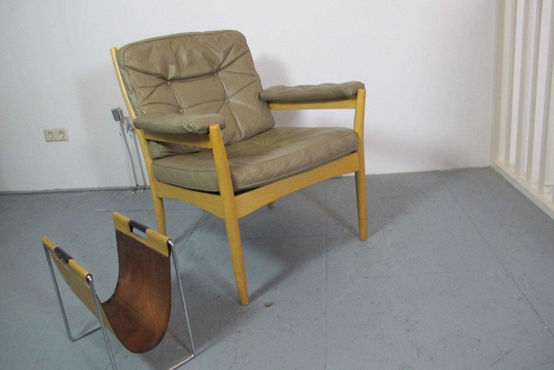 lounge stuhl von gote mobler schweden bei pamono kaufen. Black Bedroom Furniture Sets. Home Design Ideas