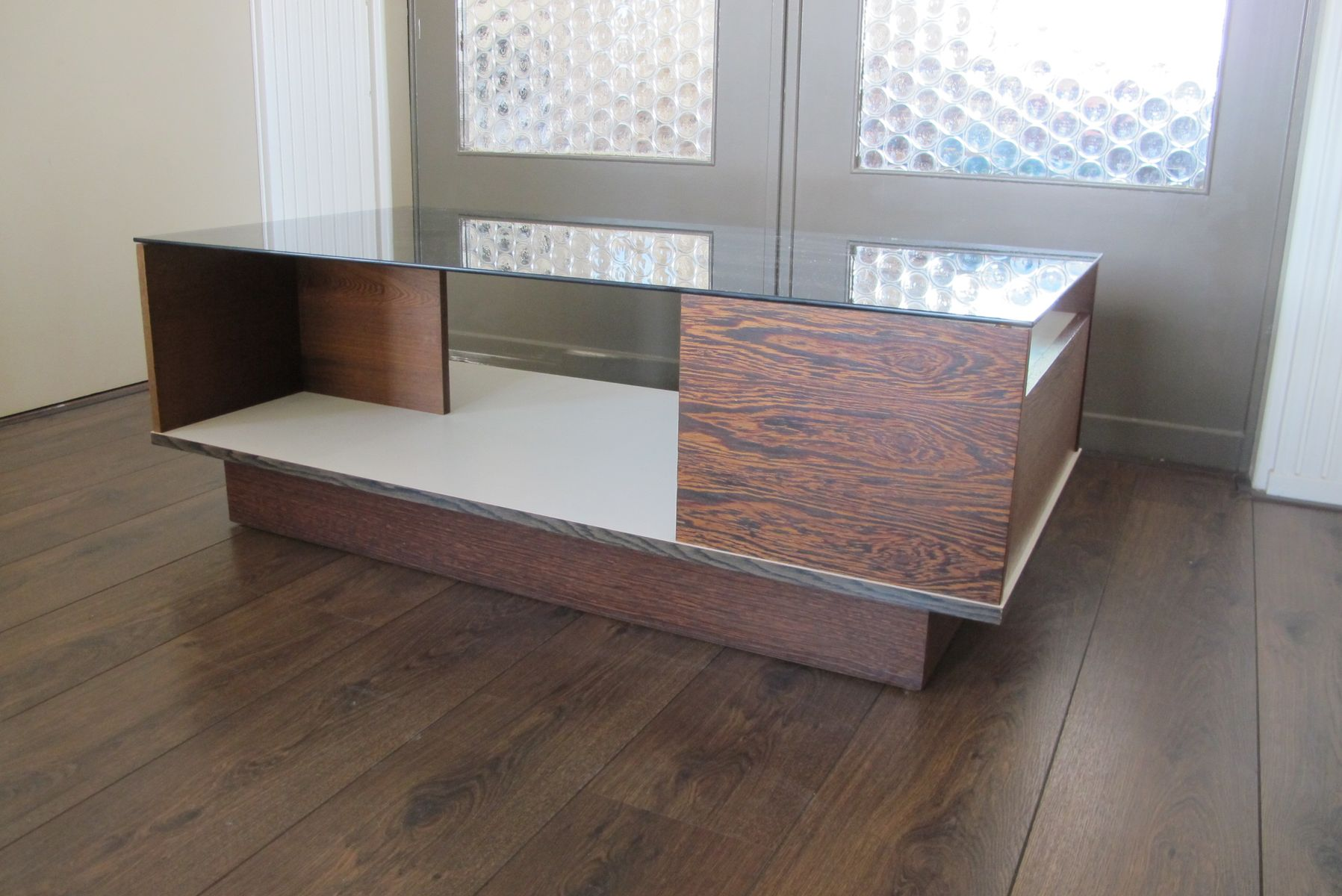 Wenge coffee table 1970s for sale at pamono - Table wenge ikea ...
