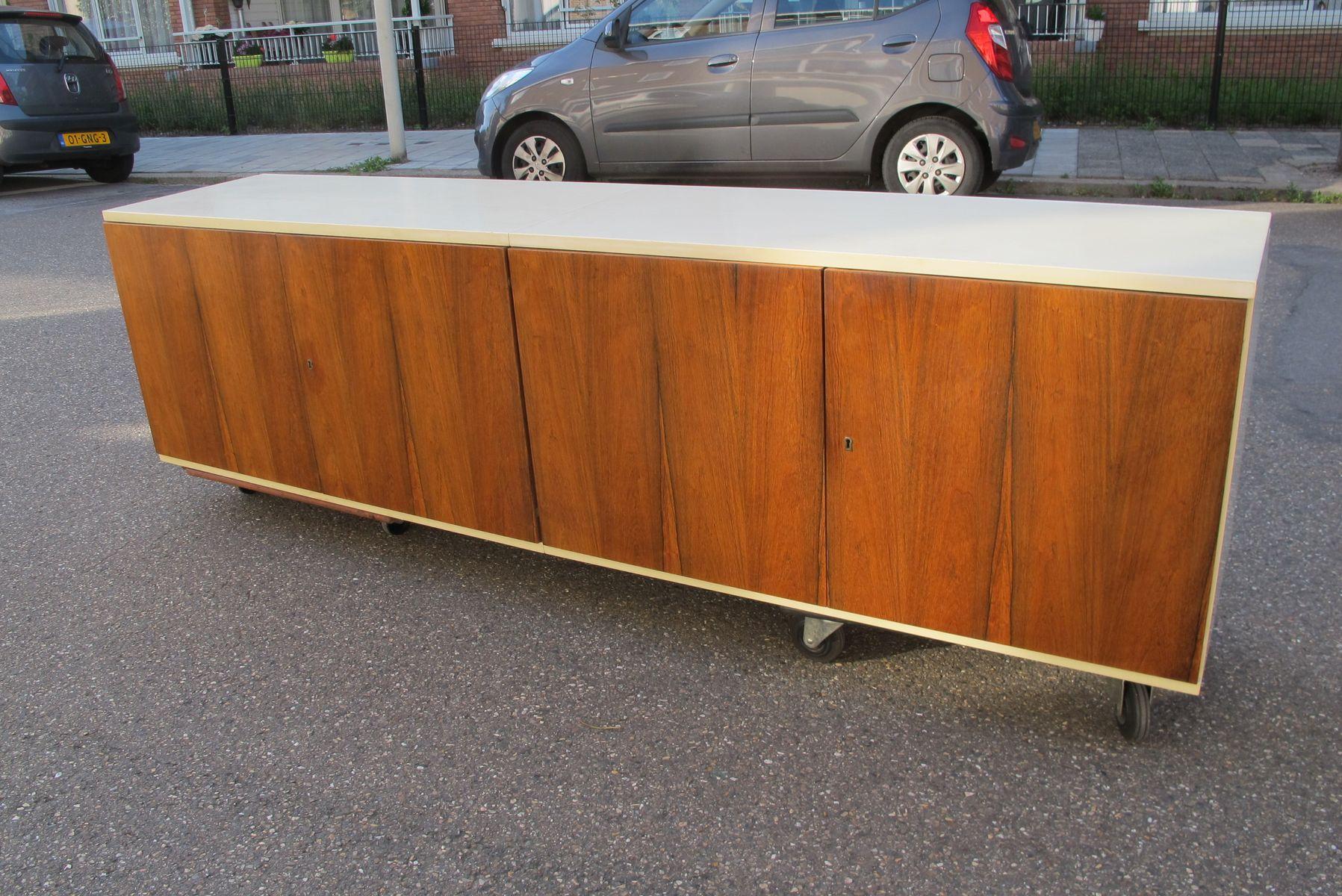 Schwebendes palisander sideboard von wk mobel bei pamono for Vintage mobel sideboard