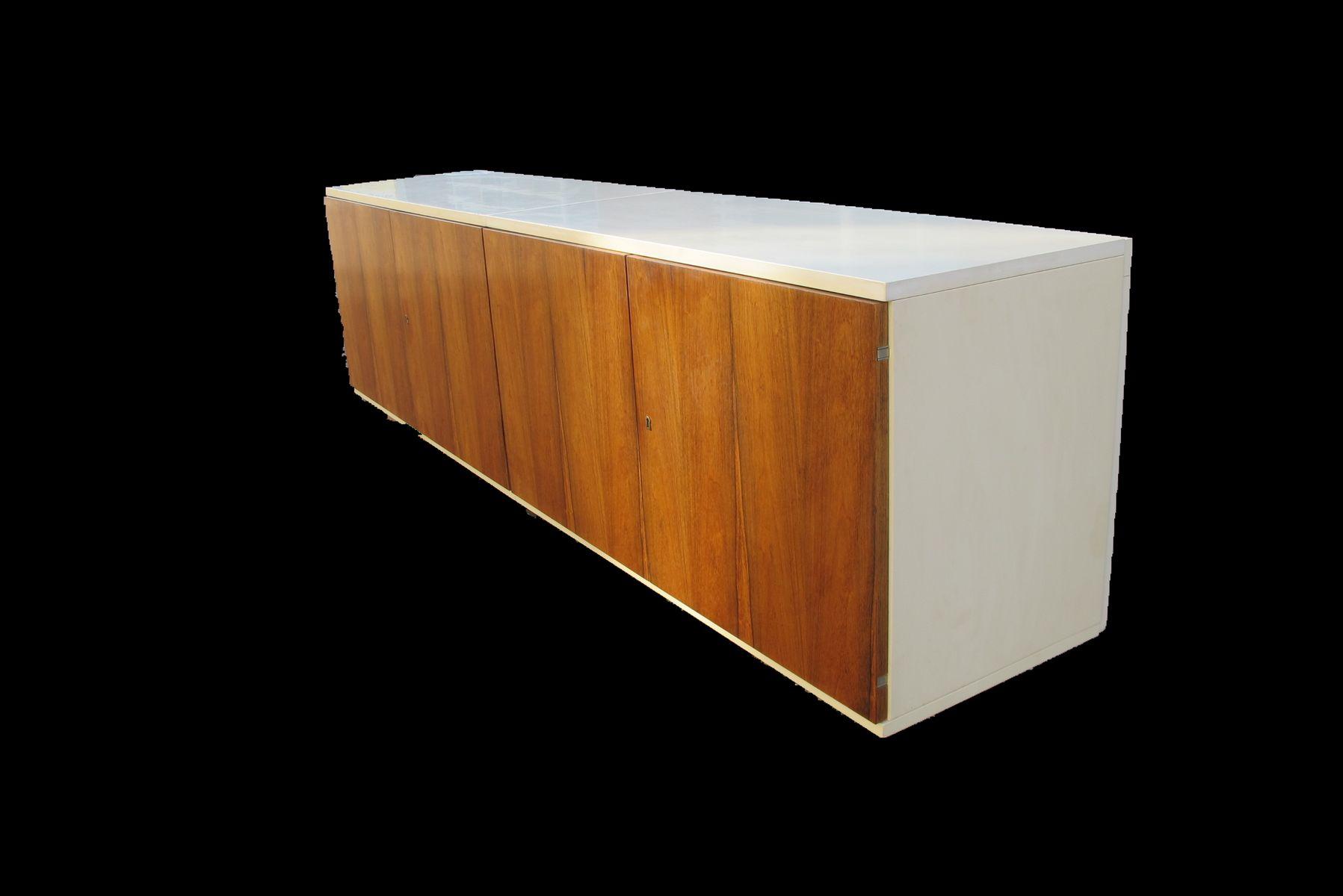 schwebendes palisander sideboard von wk mobel bei pamono kaufen. Black Bedroom Furniture Sets. Home Design Ideas