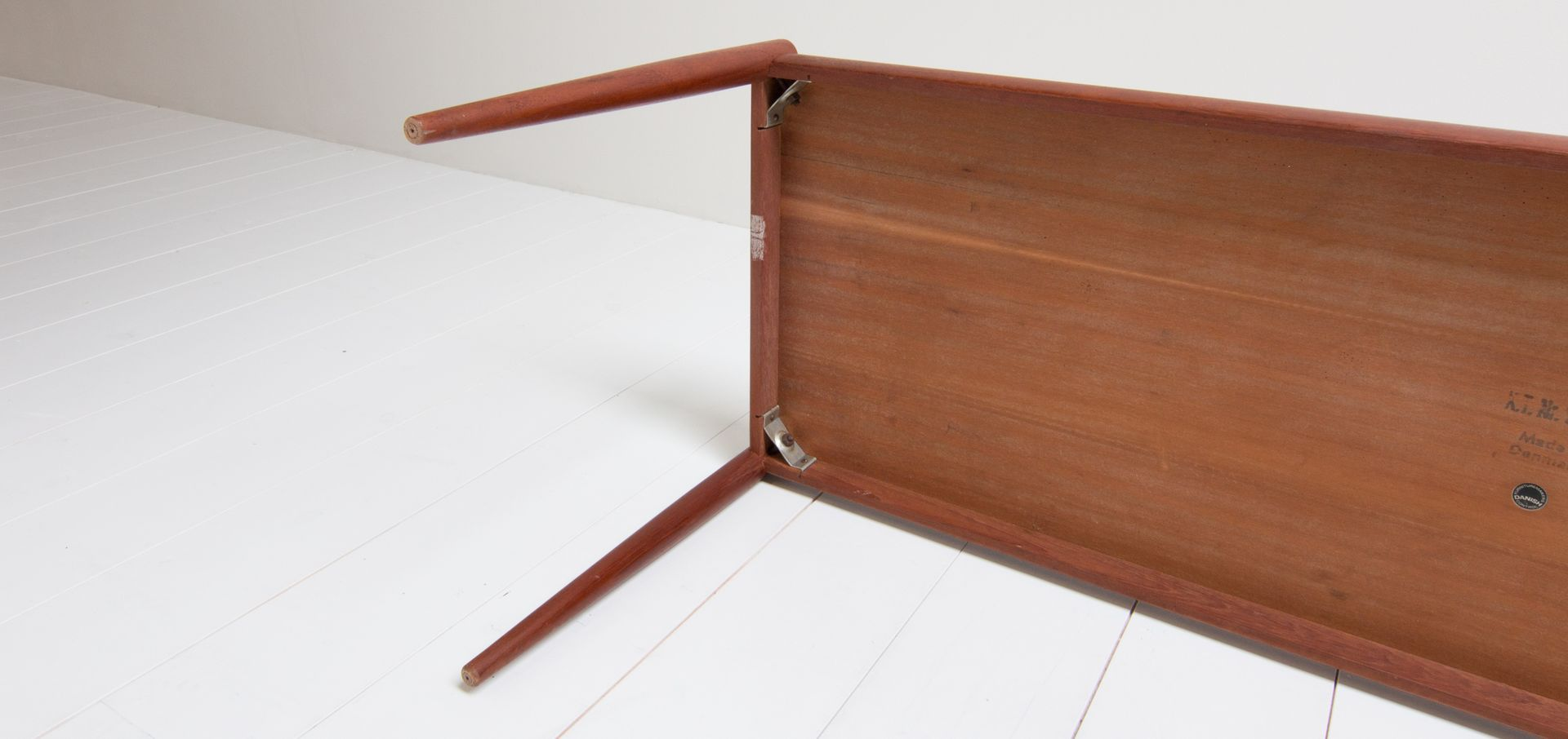 Danish Rectangular Teak Coffee Table 1960s For Sale At Pamono