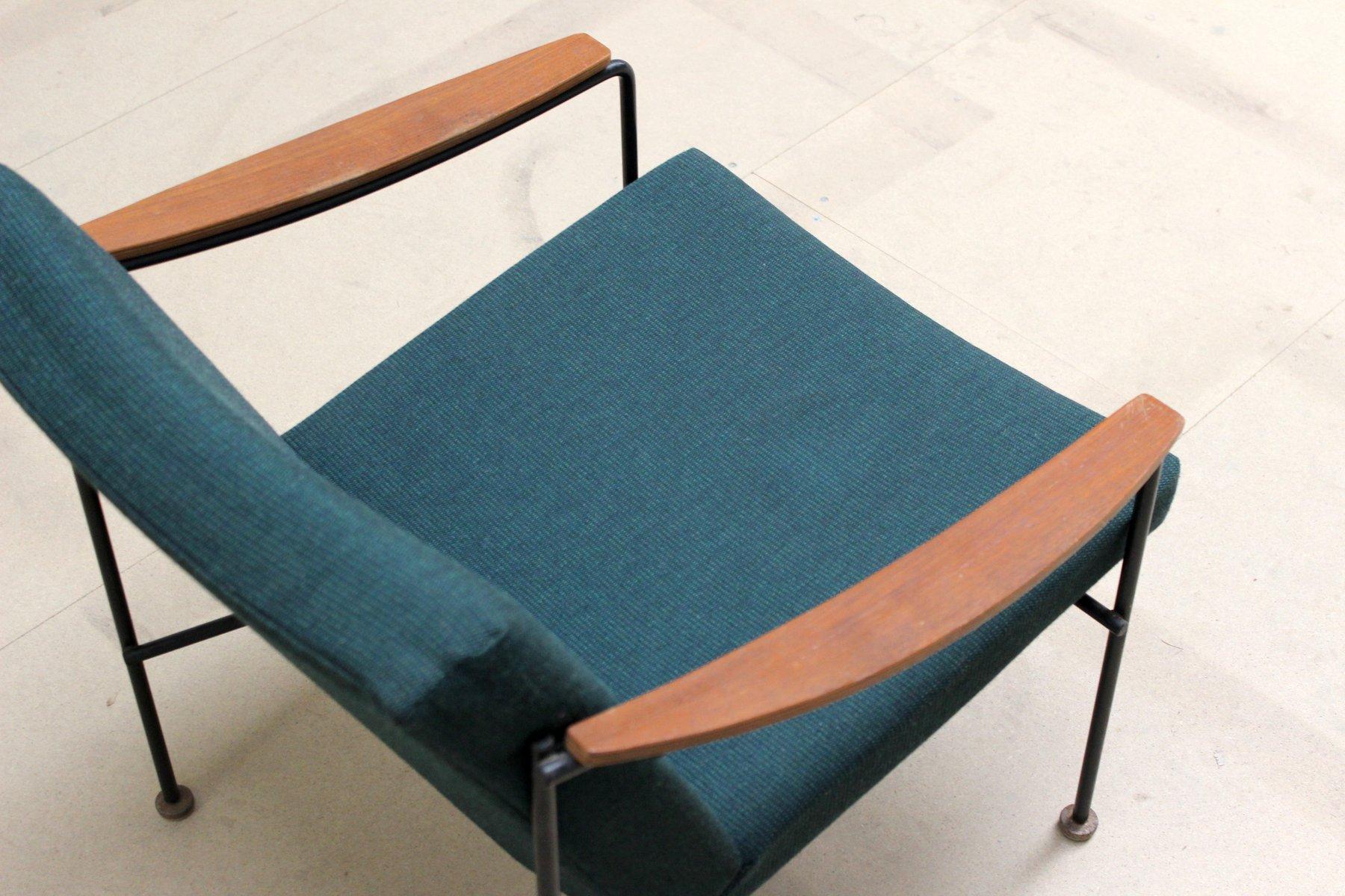 gr ner vintage sessel 1950er bei pamono kaufen. Black Bedroom Furniture Sets. Home Design Ideas