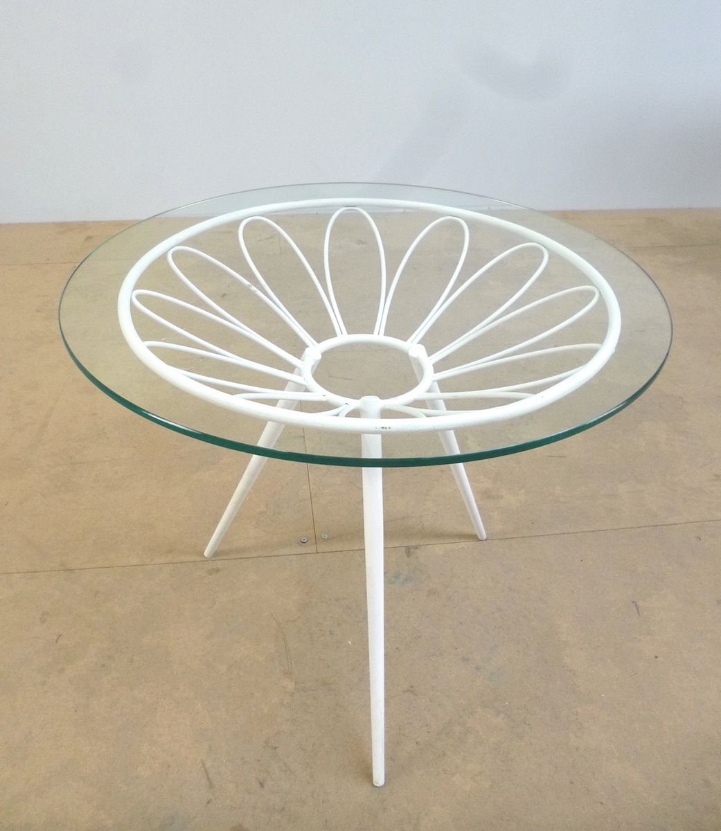Vintage Metal Side Table For Sale At Pamono