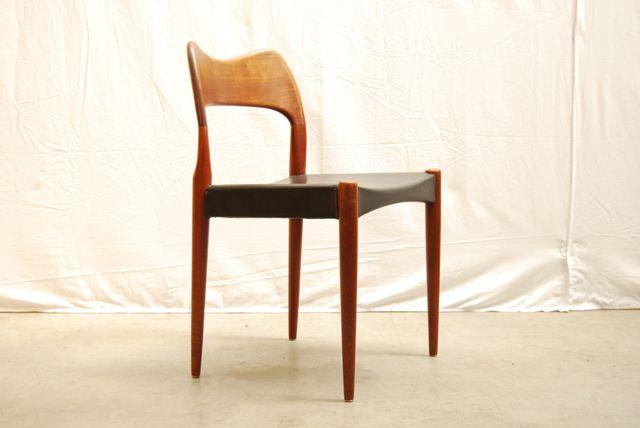 Teak Dining Chairs by Arne Hovmand Olsen for Mogens Kold  : teak dining chairs by arne hovmand olsen for mogens kold denmark set of 4 8 from www.pamono.com size 640 x 428 jpeg 22kB