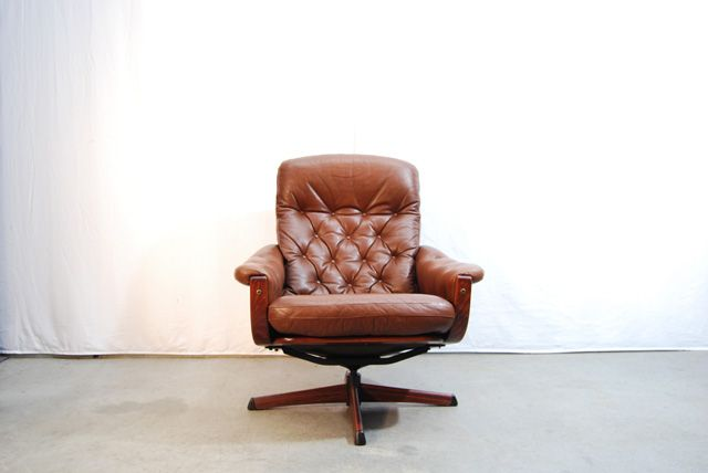 lounge swivel chair by g te m bel 1970s for sale at pamono. Black Bedroom Furniture Sets. Home Design Ideas