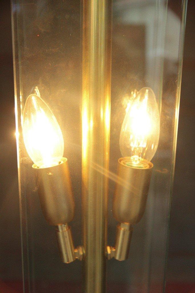 murano glas und messing stehlampe bei pamono kaufen. Black Bedroom Furniture Sets. Home Design Ideas