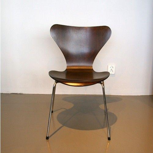 3107 dunkler eichen butterfly stuhl von arne jacobsen bei pamono kaufen. Black Bedroom Furniture Sets. Home Design Ideas
