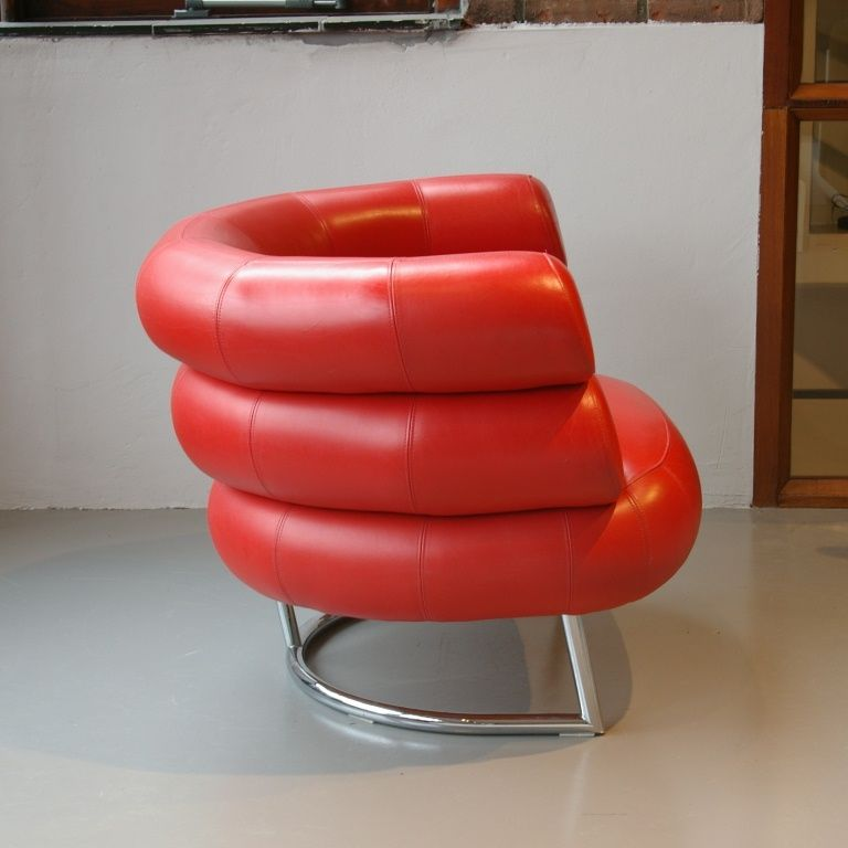 Bibendum Classicon Armchair By Eileen Gray For Sale At Pamono