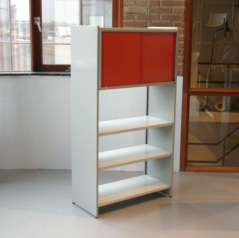 roter 5600 schrank von andr cordemeyer f r gispen bei. Black Bedroom Furniture Sets. Home Design Ideas
