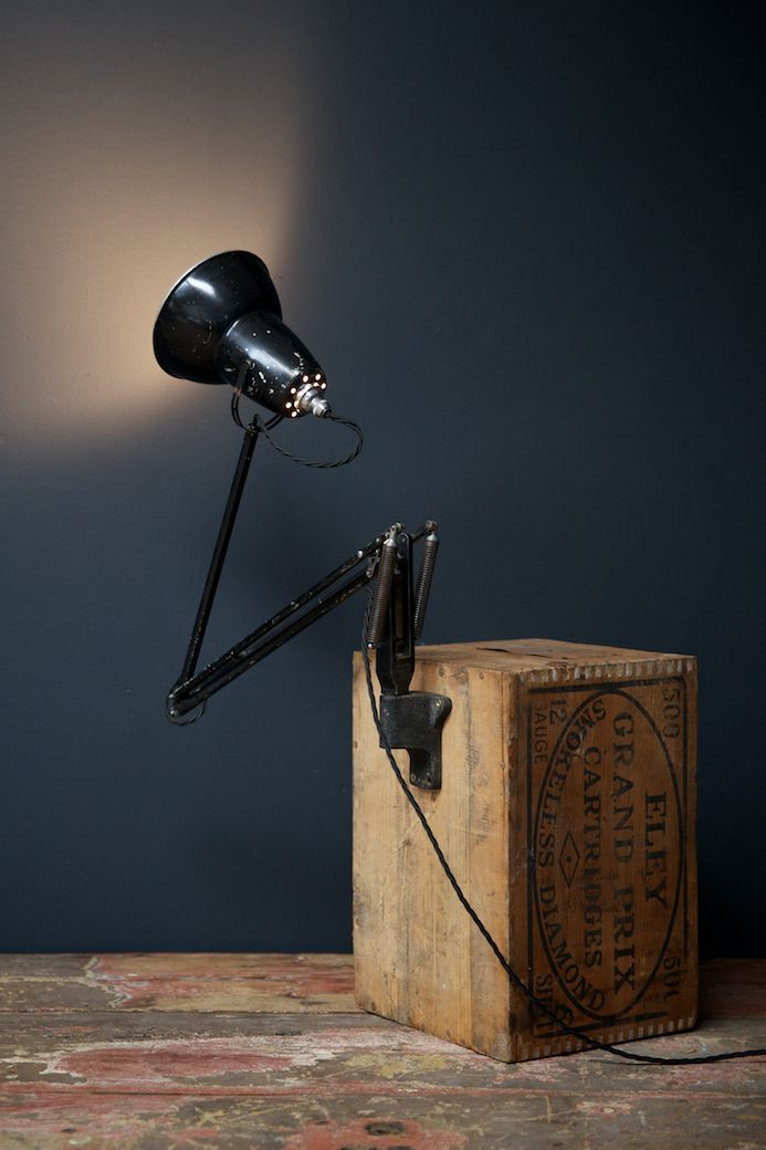 Wall Mounted Anglepoise Work Light from Herbert Terry, 1930s for sale at Pamono