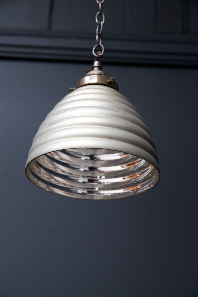 Small Iridescent Pendant Light For Sale At Pamono