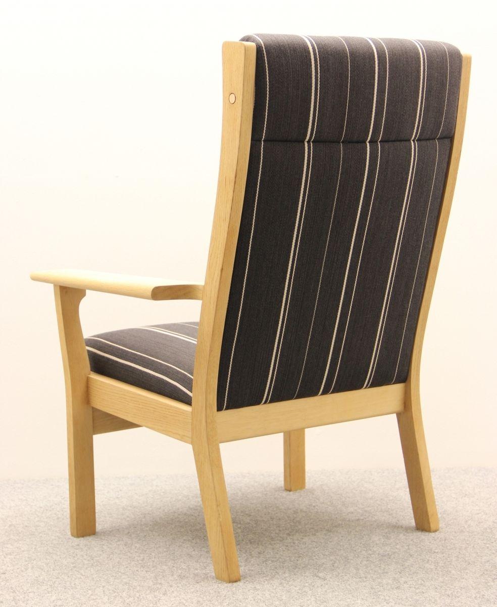ge 181a sessel von hans j wegner f r getama 1960er bei. Black Bedroom Furniture Sets. Home Design Ideas