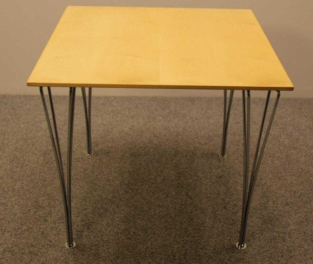 tisch von arne jacobsen f r fritz hansen 1970er bei. Black Bedroom Furniture Sets. Home Design Ideas