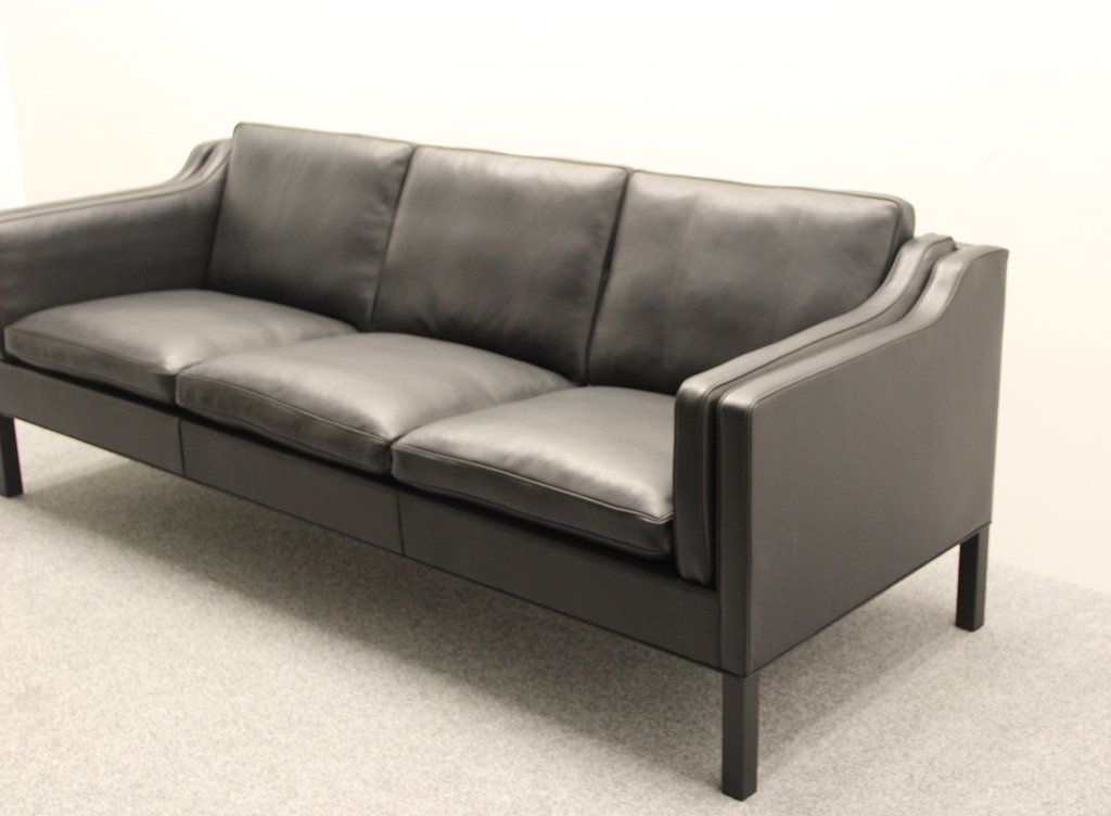 bm 2213 sofa von b rge mogensen f r fredericia stolefabrik 1960er bei pamono kaufen. Black Bedroom Furniture Sets. Home Design Ideas
