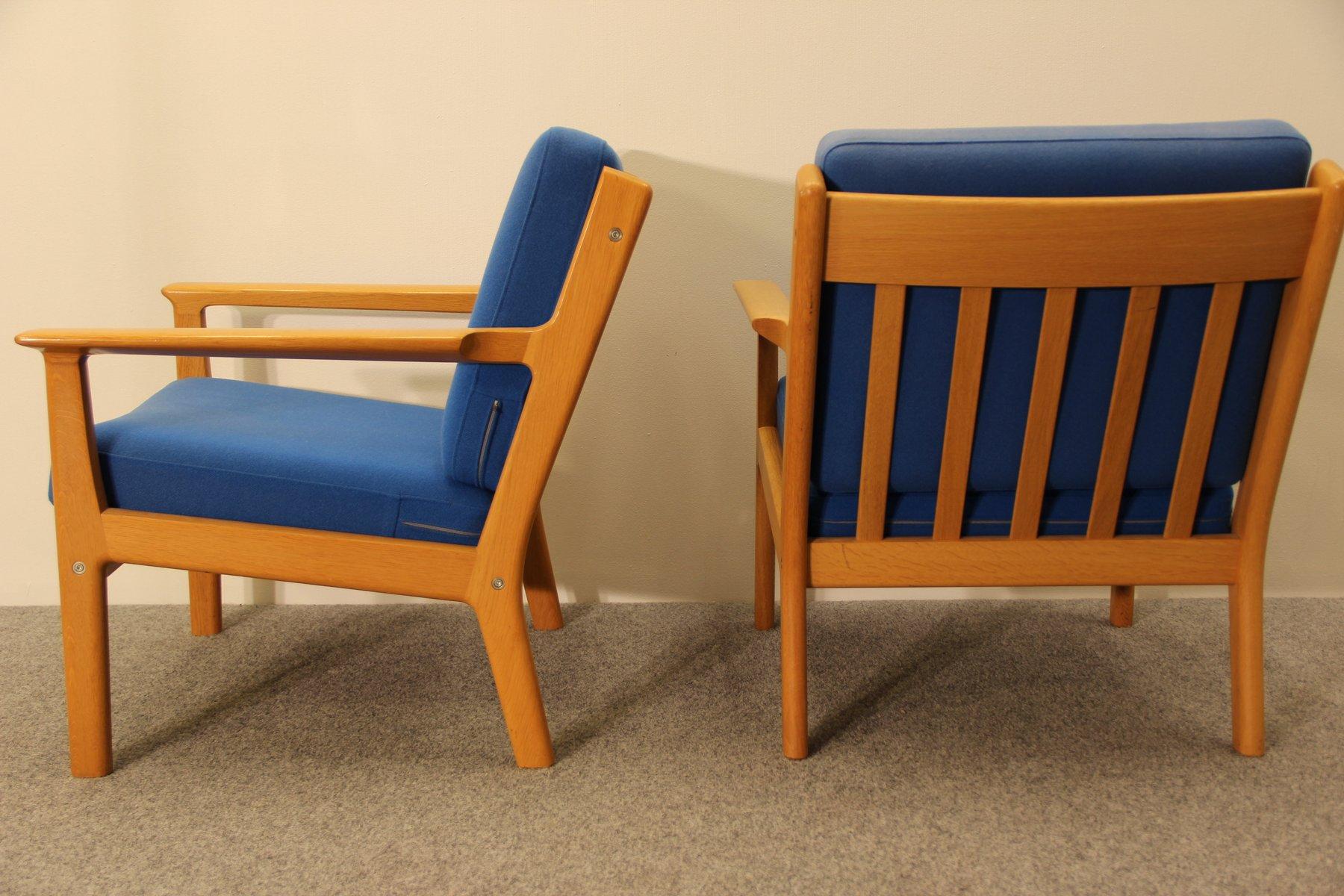 GE 265 Armchair by Hans J. Wegner for Getama