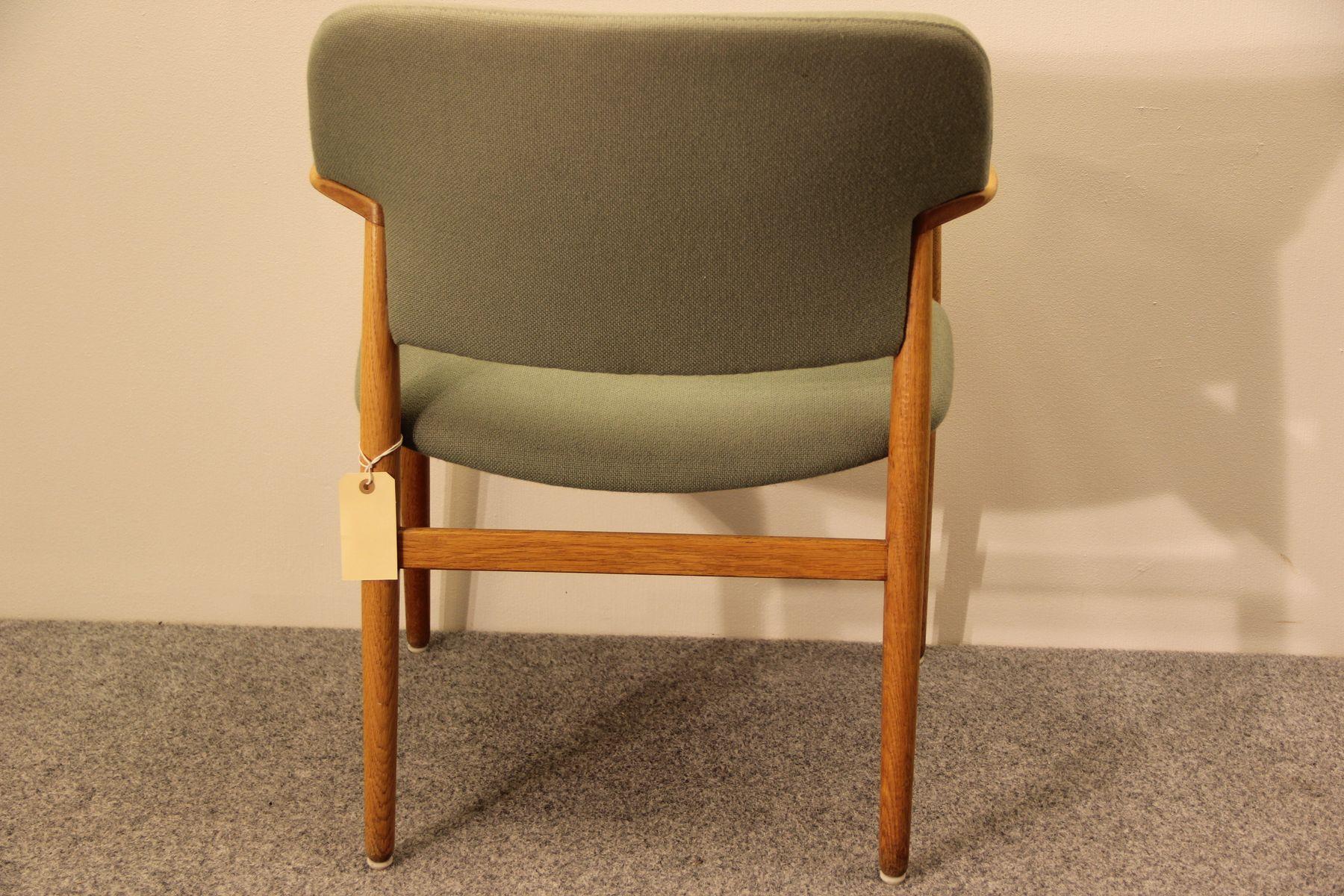armchair by ejner larsen aksel bender madsen for fritz. Black Bedroom Furniture Sets. Home Design Ideas