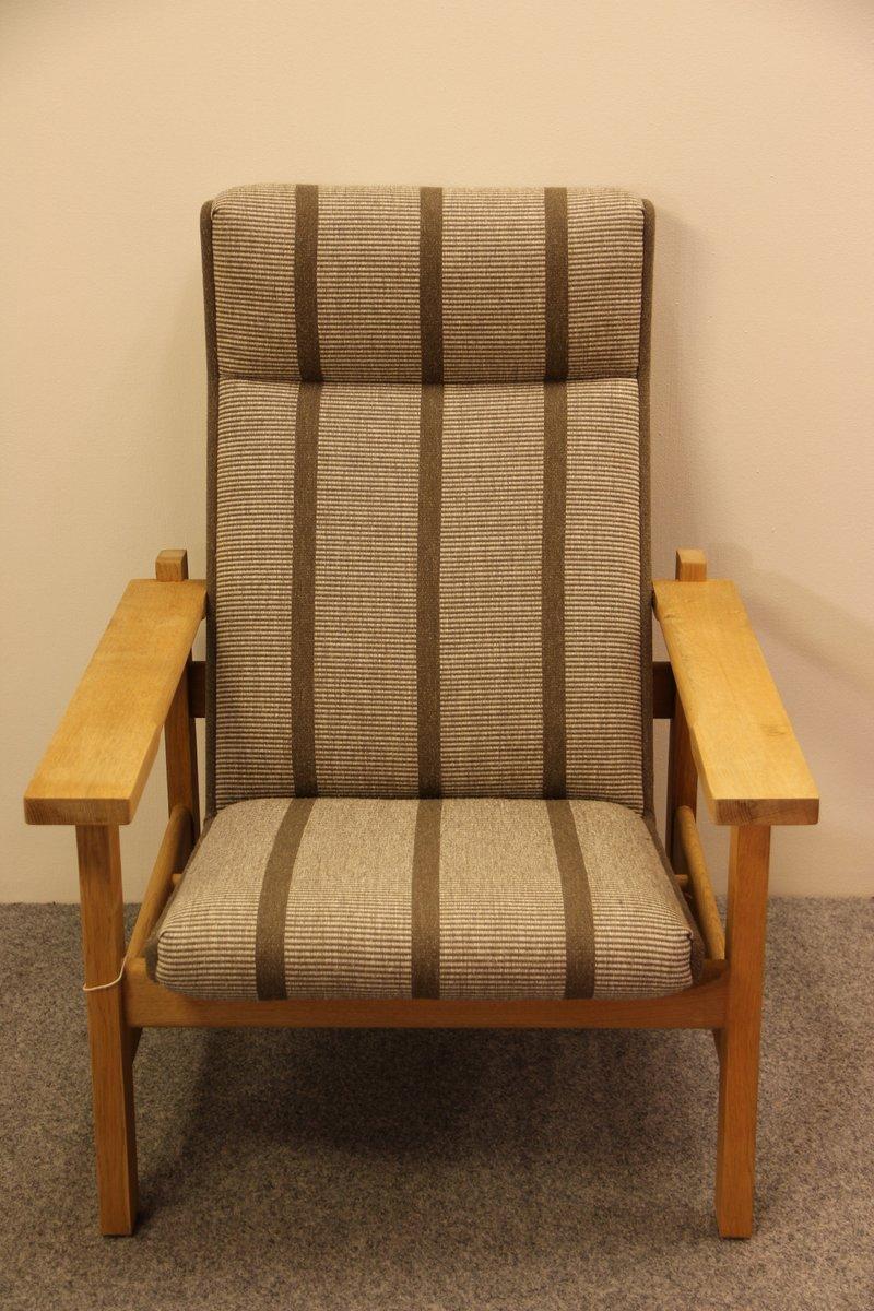 ge 163a sessel von hans j wegner f r getama bei pamono kaufen. Black Bedroom Furniture Sets. Home Design Ideas