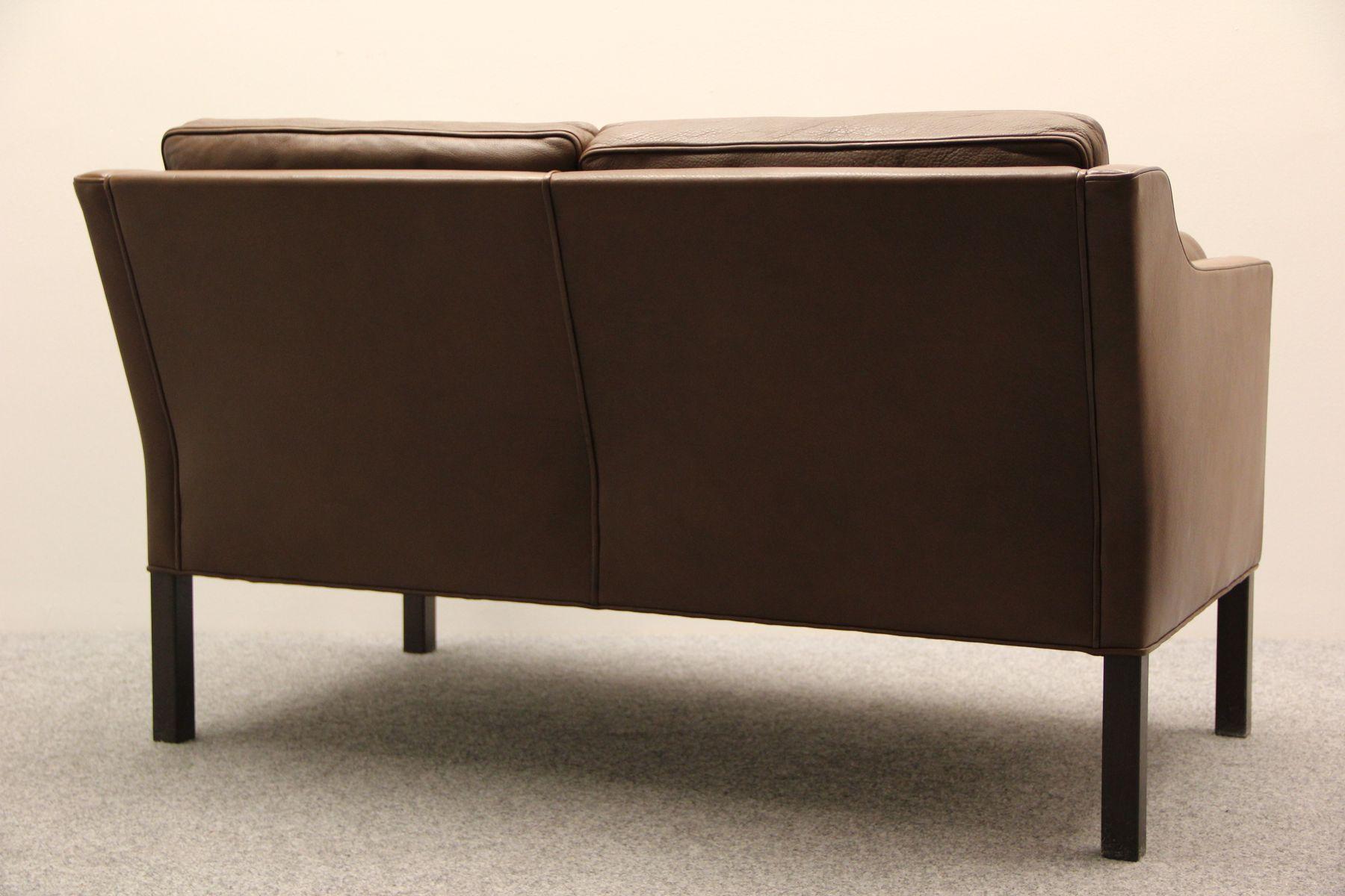 bm 2422 zwei sitzer sofa von b rge mogensen f r fredericia stolefabrik 1983 bei pamono kaufen. Black Bedroom Furniture Sets. Home Design Ideas
