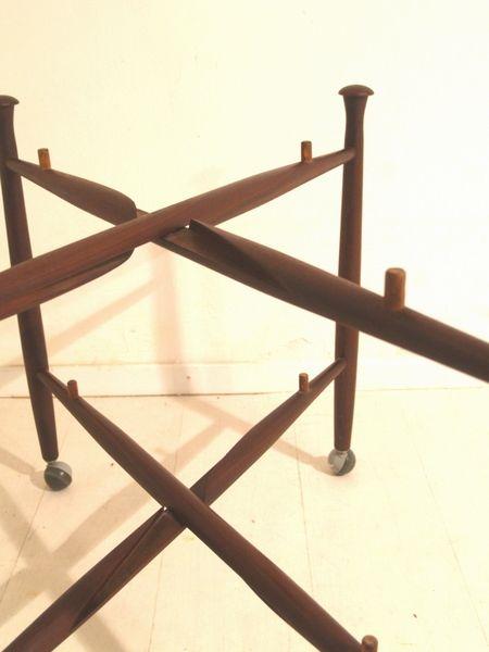 teak servierwagen von bovenkamp bei pamono kaufen. Black Bedroom Furniture Sets. Home Design Ideas