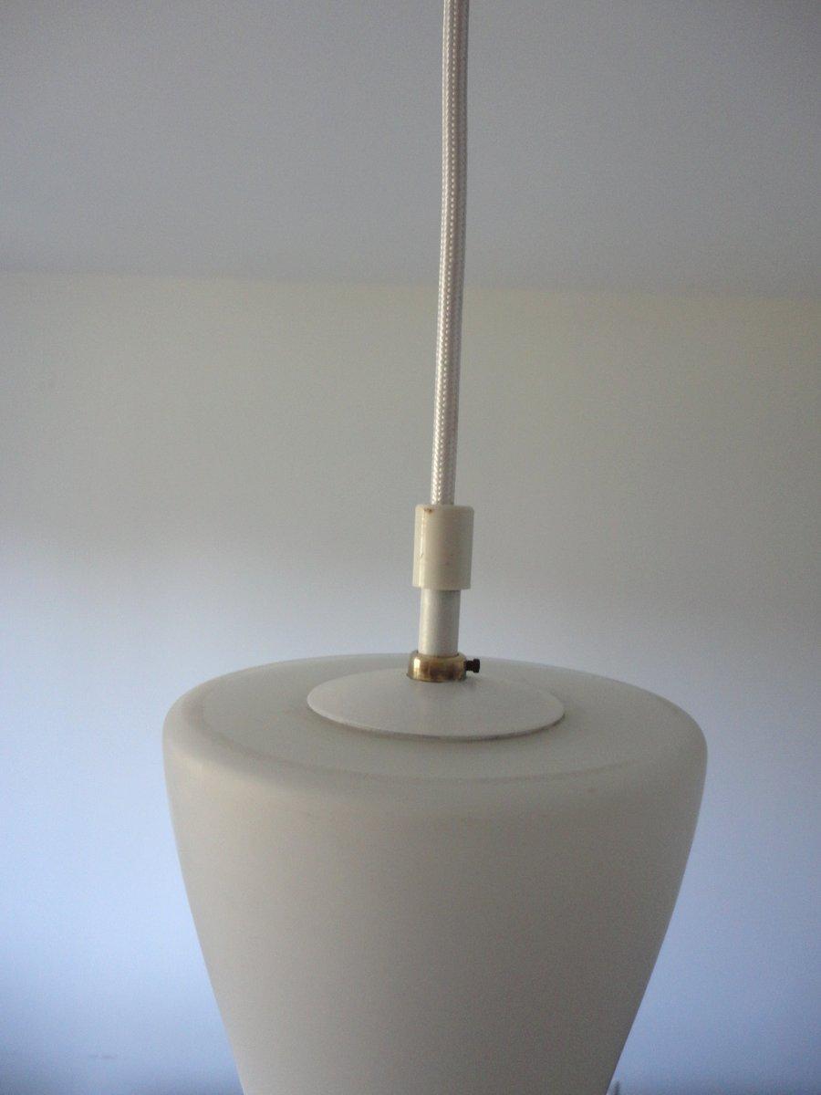 vintage glas h ngelampe 1960er bei pamono kaufen. Black Bedroom Furniture Sets. Home Design Ideas