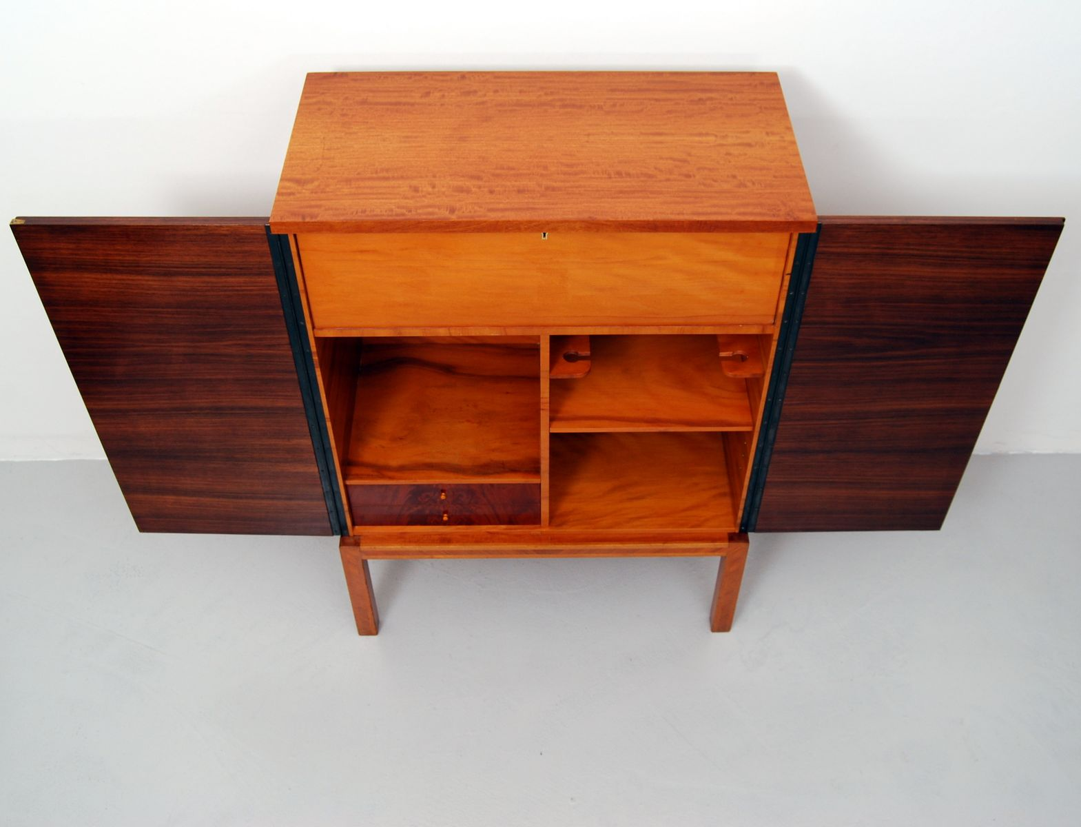 Swedish bar cabinet from reiners m belfabrik 1940s for for 1940s kitchen cabinets for sale