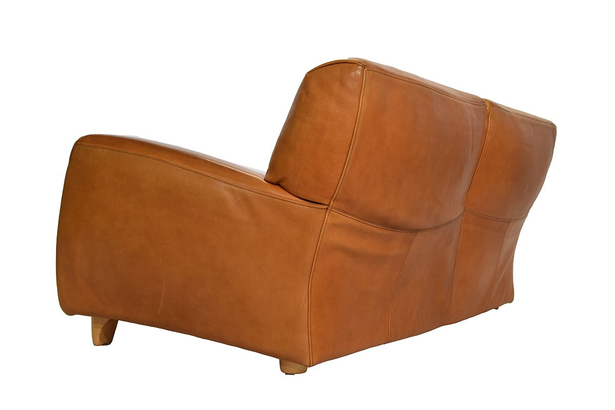 canap fatboy en cuir cognac naturel de molinari 1980s en vente sur pamono. Black Bedroom Furniture Sets. Home Design Ideas