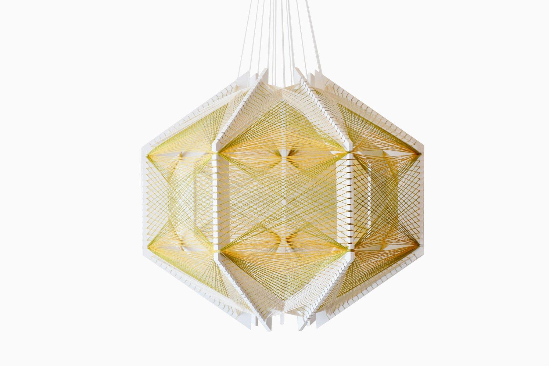sputnik lampenschirm 12 gr n gold von julie lansom bei. Black Bedroom Furniture Sets. Home Design Ideas