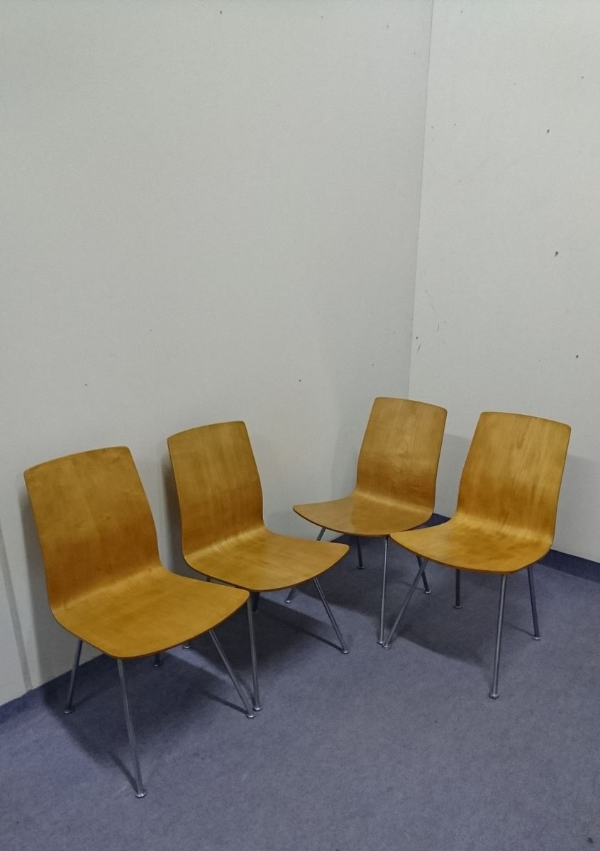Mid Century Dining Chairs 1950s Set Of 4 For Sale At Pamono