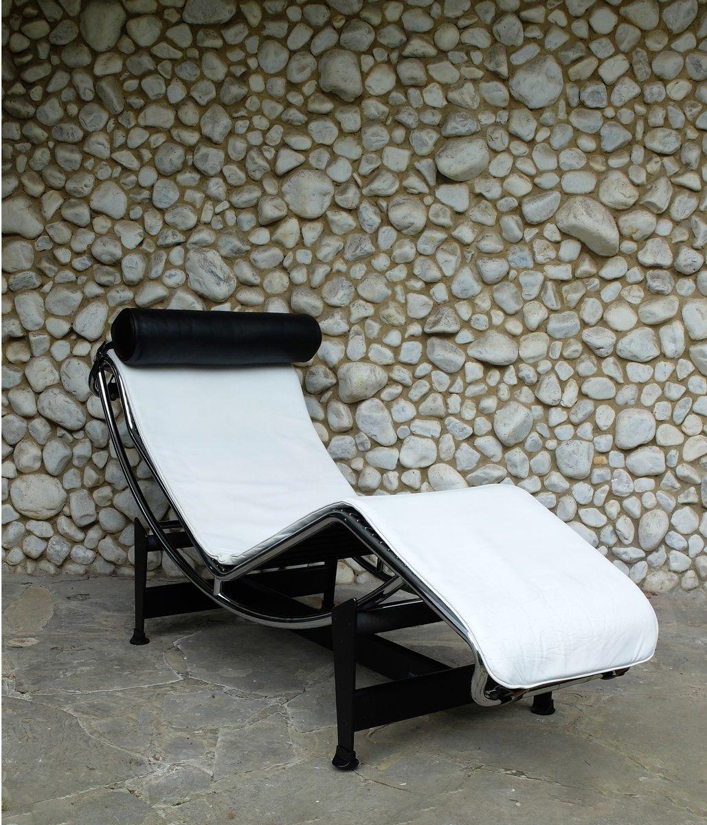 Vintage lc4 chaise longue by le corbusier jeanneret - Chaise longue le corbusier ...