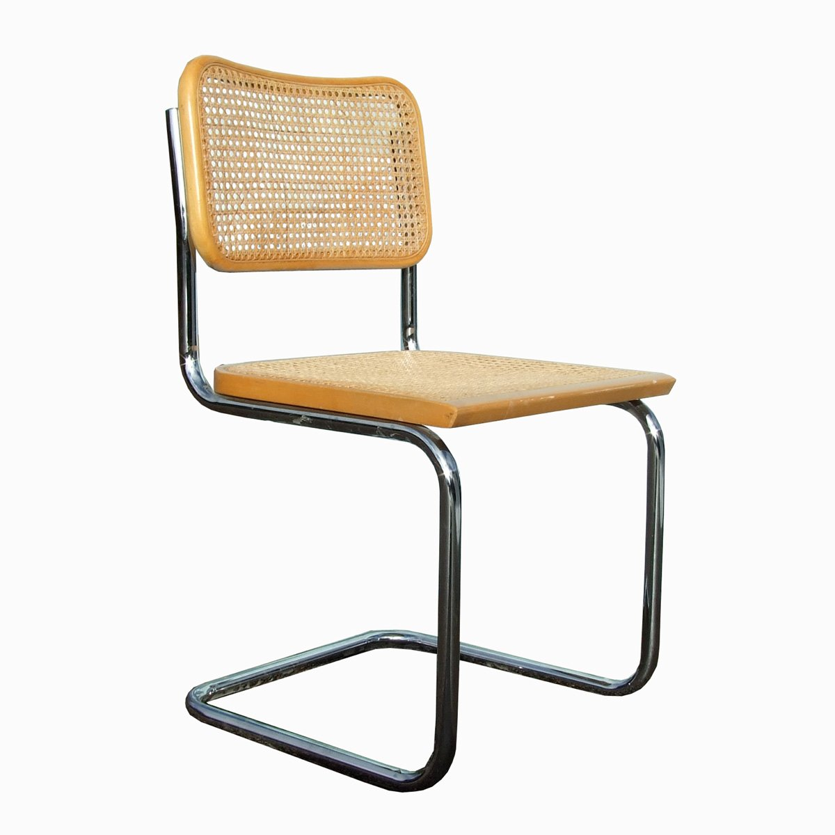 Bauhaus cesca chair by marcel breuer 1970s for sale at pamono for Bauhaus eames chair