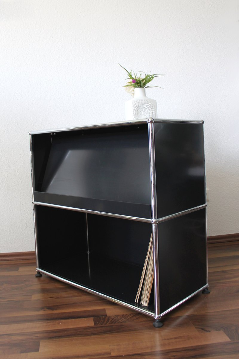 vintage sideboard from usm haller for sale at pamono. Black Bedroom Furniture Sets. Home Design Ideas