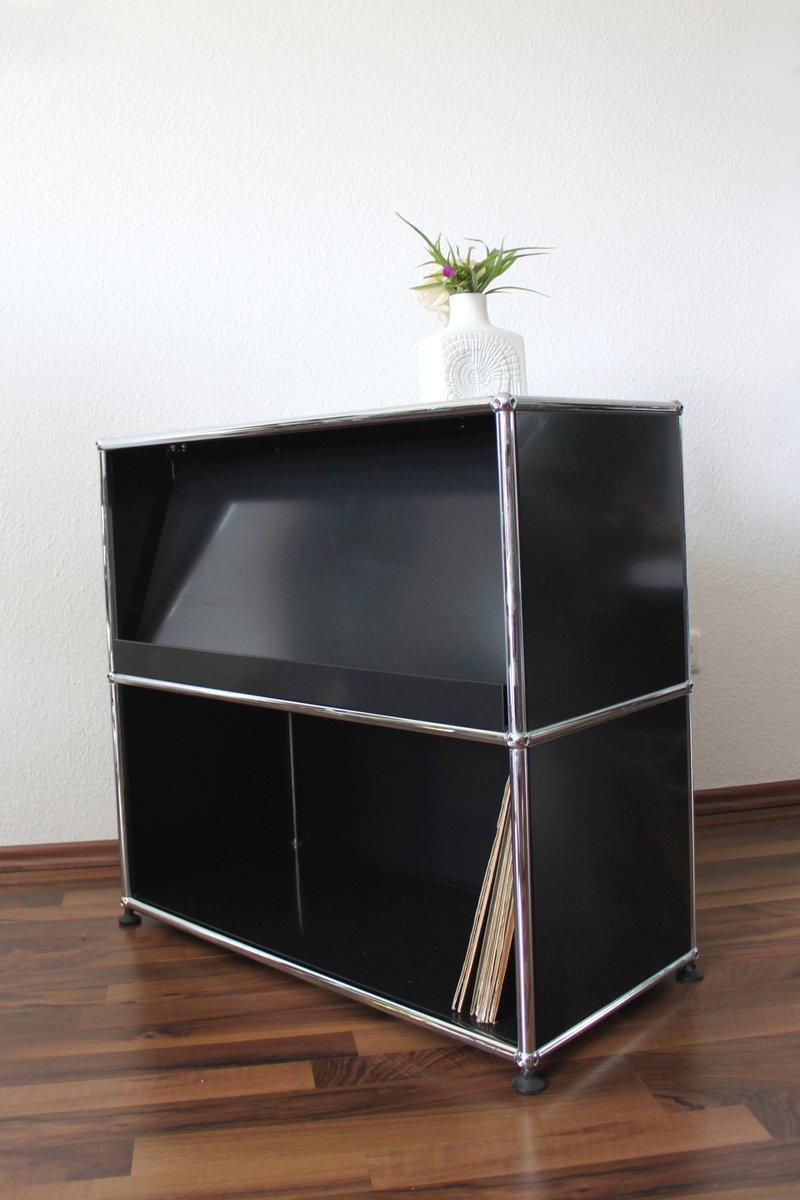 vintage sideboard from usm haller for sale at pamono. Black Bedroom Furniture Sets. Home Design Ideas