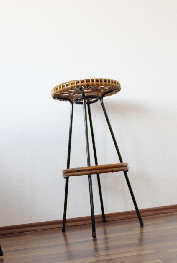 Tiki Tiki Bar Stools with Hawaiian String Design 1960s  : tiki tiki bar stools with hawaiian string design 1960s set of 4 7 from www.pamono.co.uk size 600 x 889 jpeg 119kB