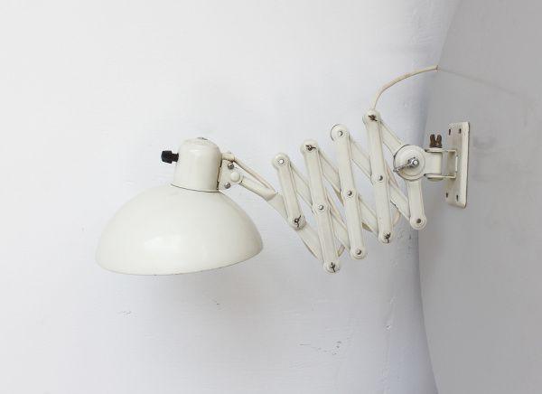 industrielle kaiser idell scherenlampe von christian dell f r kaiser lampen bei pamono kaufen. Black Bedroom Furniture Sets. Home Design Ideas