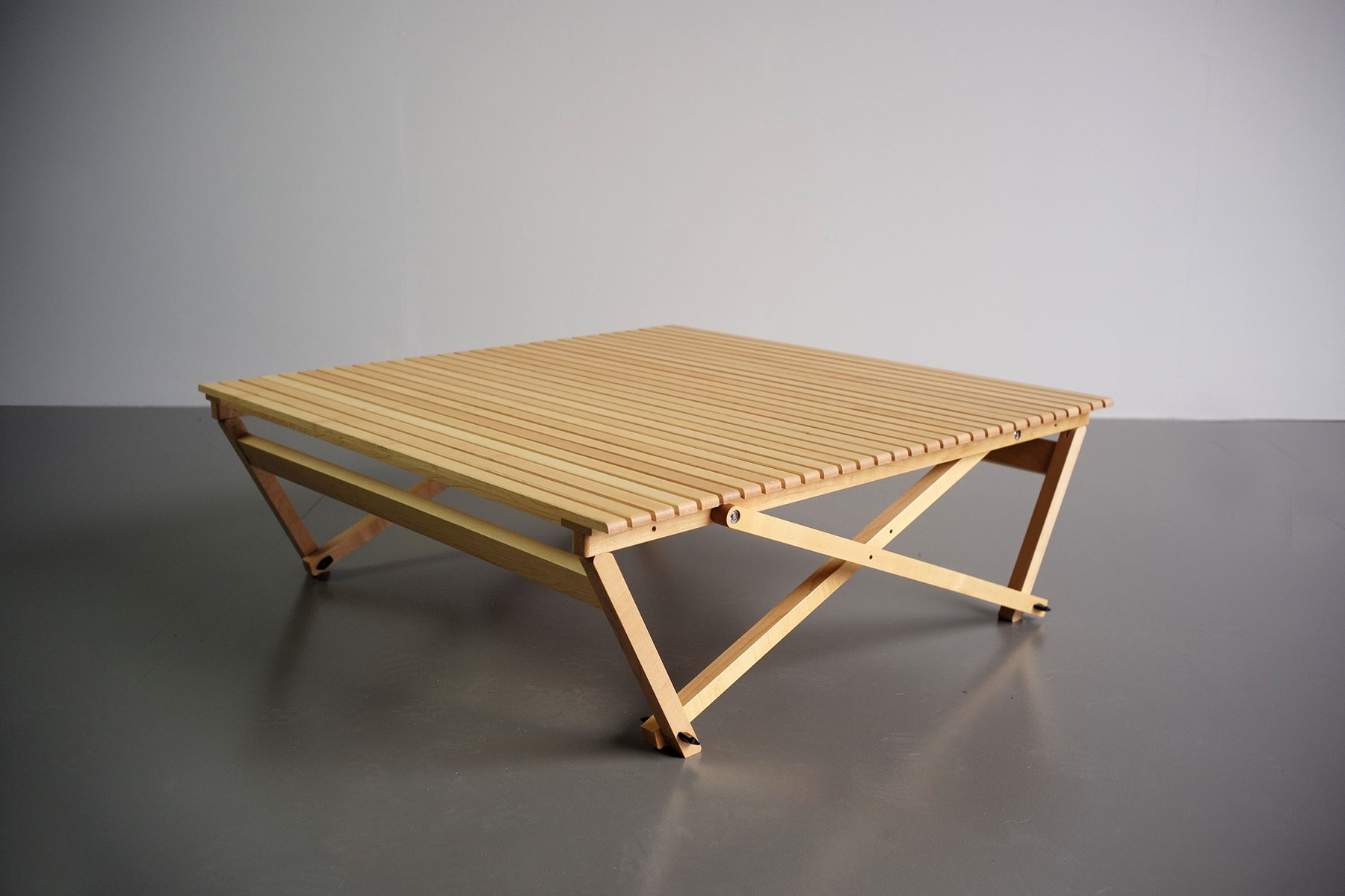 Model A6 Folding Table By Jean Claude Duboys For Maison Attitude 1980s For Sale At Pamono