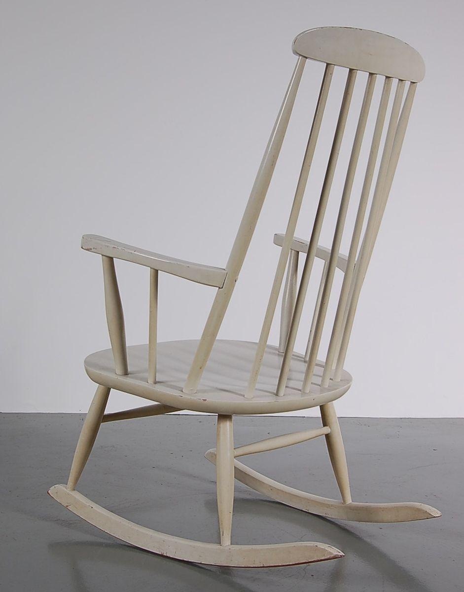 wei er schaukelstuhl von nesto 1950er bei pamono kaufen. Black Bedroom Furniture Sets. Home Design Ideas