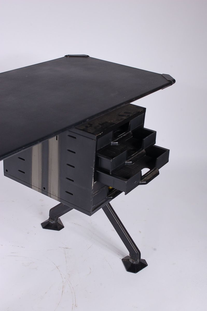 Small Industrial Desk by Olivetti for Studio B B P R