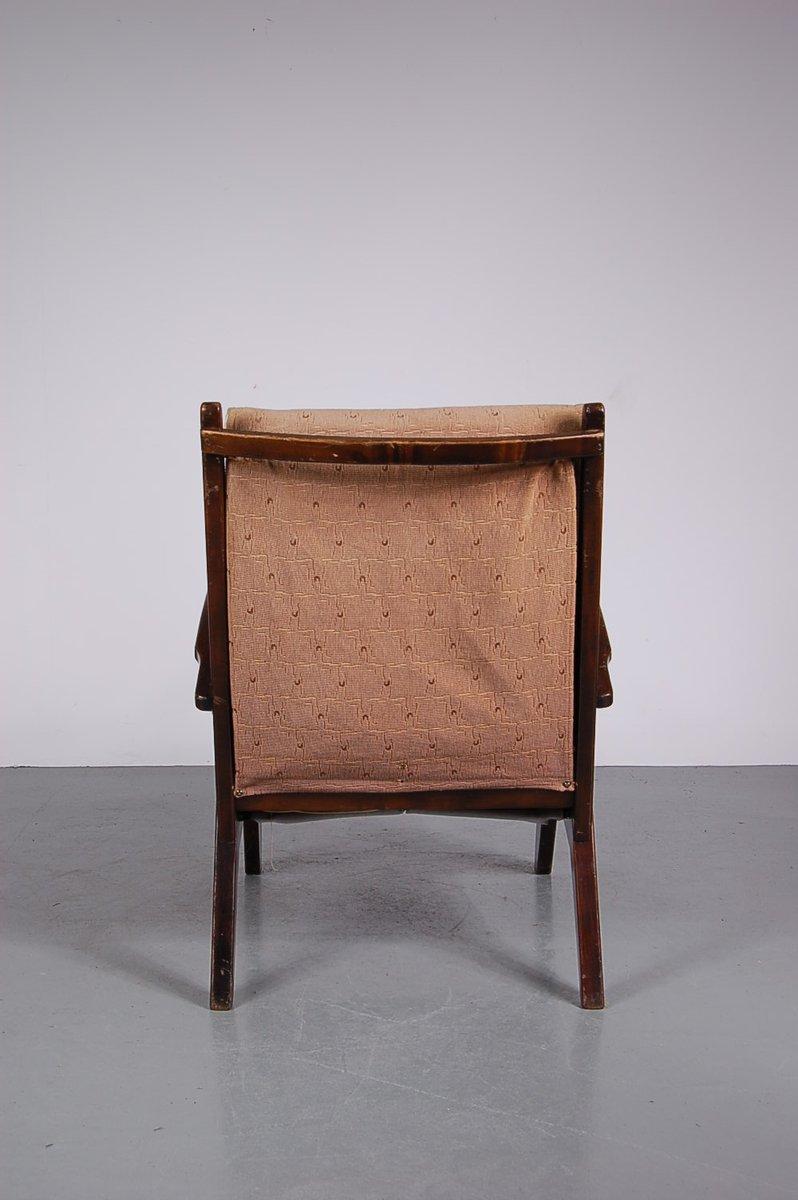 niederl ndischer lounge stuhl bei pamono kaufen. Black Bedroom Furniture Sets. Home Design Ideas