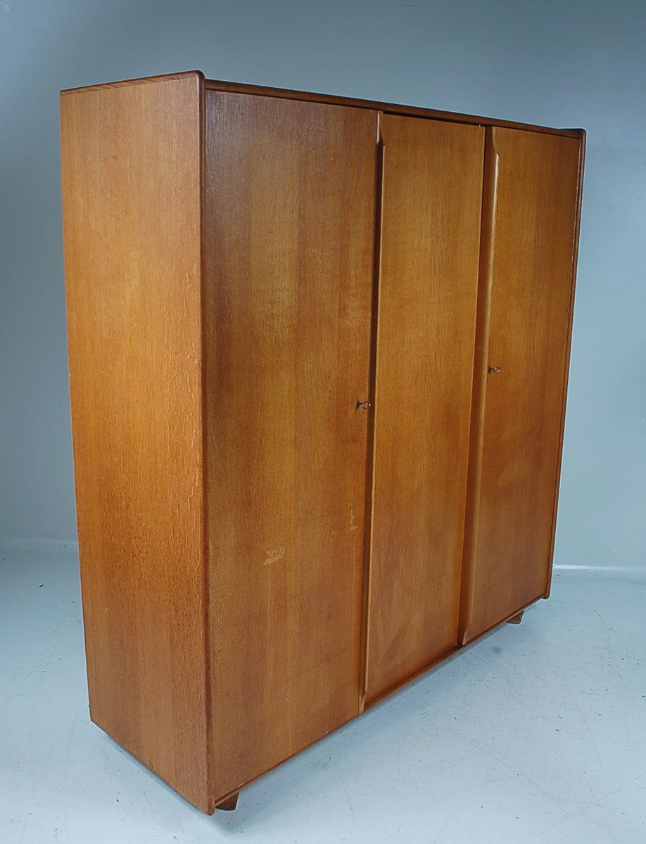 Large clothing cabinet by cees braakman for pastoe for for Big cupboard