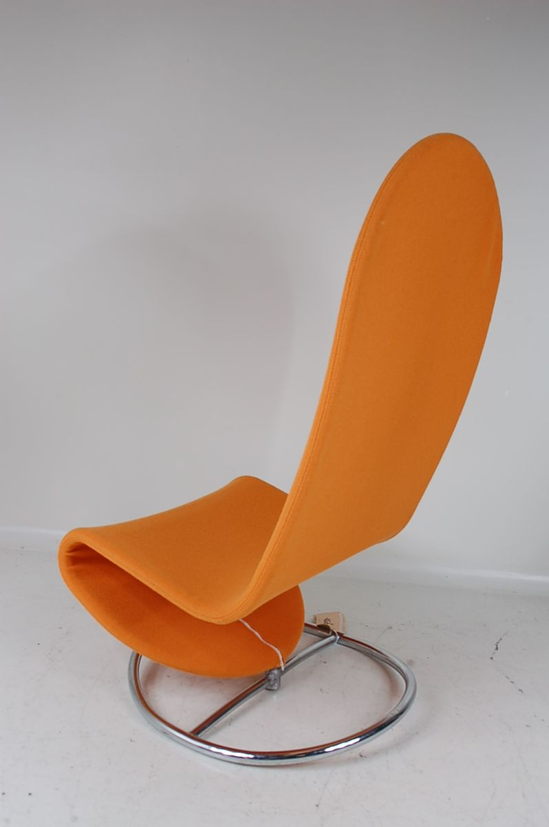 rocking chair by verner panton for fritz hansen 1960s for sale at