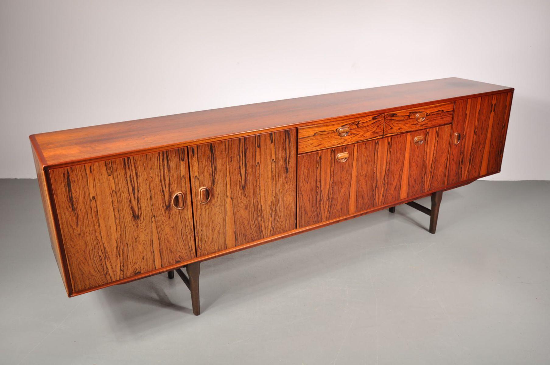 gro es palisander sideboard von fristho 1960er bei pamono. Black Bedroom Furniture Sets. Home Design Ideas