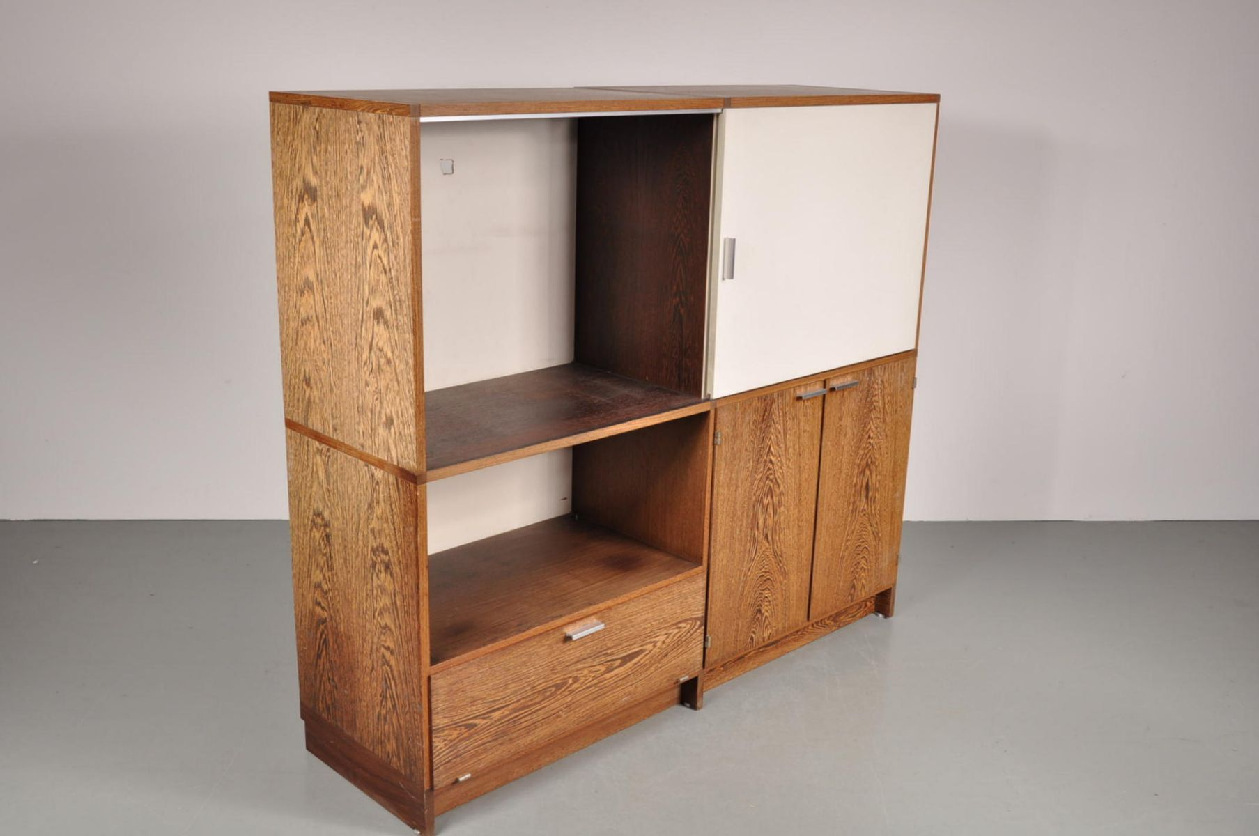 weng cabinet by cees braakman for pastoe 1960s for sale. Black Bedroom Furniture Sets. Home Design Ideas