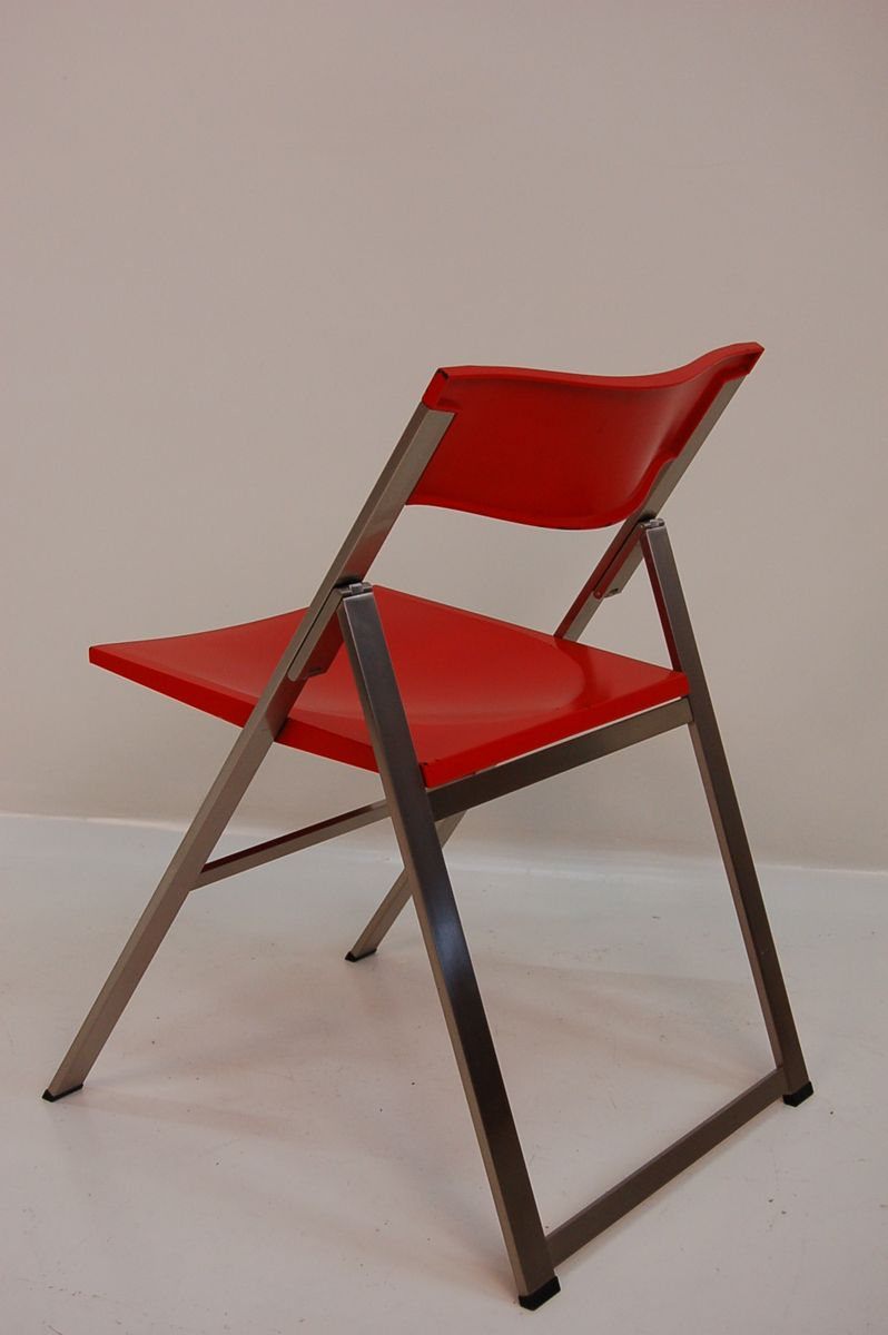 Vintage dining chair from tecno 1980s for sale at pamono for 1980s chair