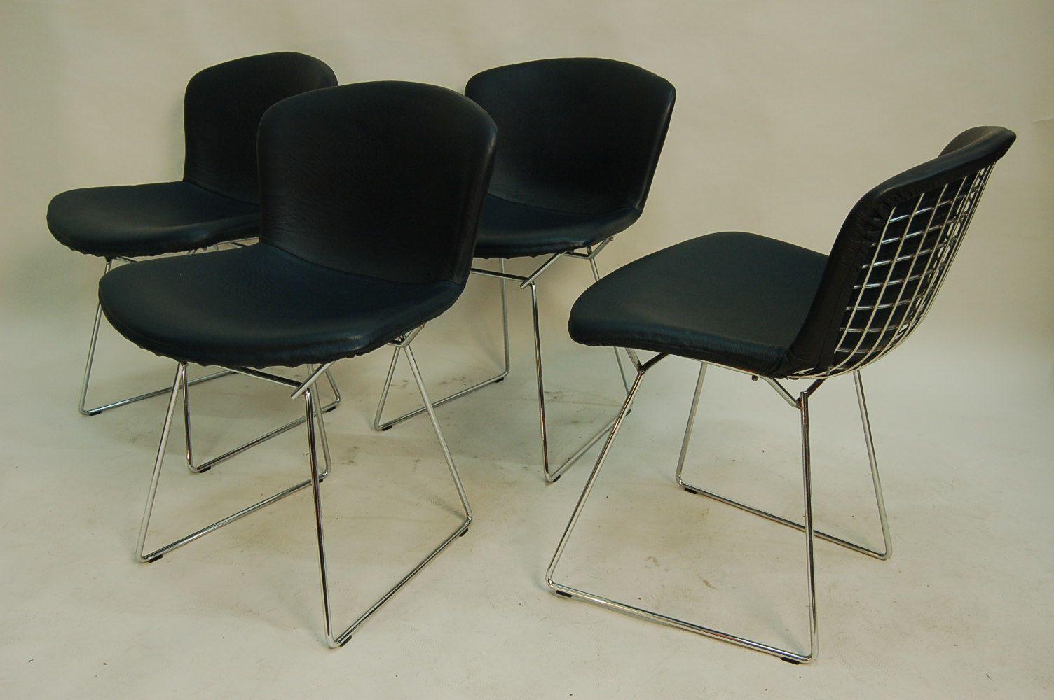 chaises de salon mid century par harry bertoia pour knoll. Black Bedroom Furniture Sets. Home Design Ideas